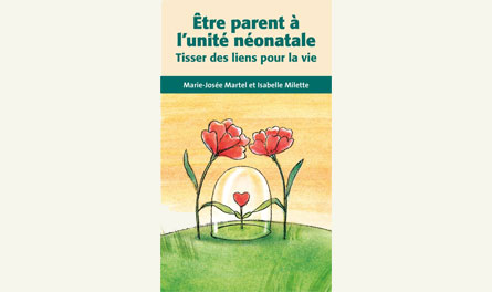Book launch:  Être parents à l'unité néonatale. Marie-Josée in interview!